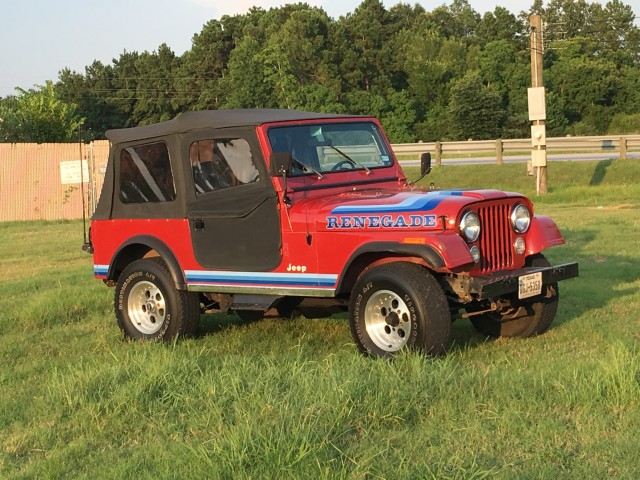 Photo Used 1981 Jeep CJ-7