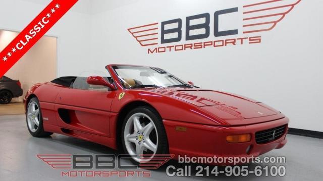 Photo Used 1999 Ferrari F355 Spider F1
