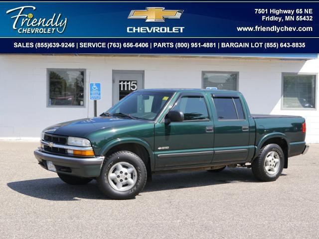 Photo Used 2002 Chevrolet S-10 LS