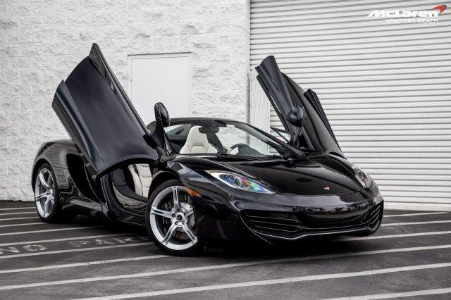 Photo Used 2014 McLaren MP4-12C Spider