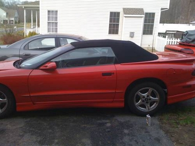 Photo 1997 PONTIAC FIREBIRD CONVERTIBLE FRESH ENGINE AND TRANS NEW TOP