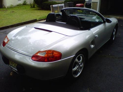 Photo 1997 porsche boxster-silver manual-68,000k