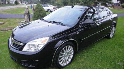 Photo 2007 GM Saturn Aura XR Black Leather Loaded Same as Chevy Malibu
