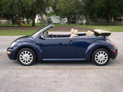 Photo 2004 Volkswagen New Beetle GLS 4 Cly - Dark Blue - Auto - 81K Mi.