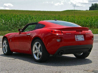 Photo 2009 Pontiac Solstice GXP Coupe 5 Speed Turbo