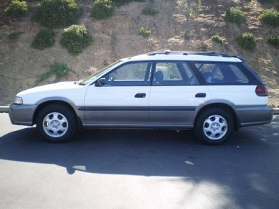 Photo 1997 Subaru Legacy Four-Door Sedan Outback Wagon 4D