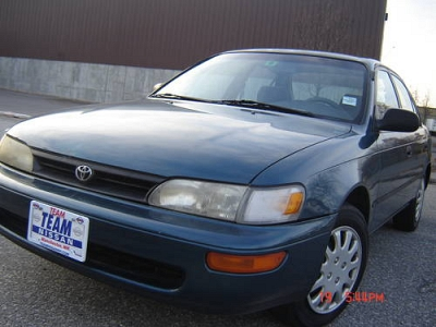 Photo 1994 TOYOTA COROLLA DX-POWER DOORSWINDOWS-POWER-AUTO-4CYL