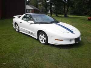 Photo Rare 94 Trans am 25th anniversary edition, 1 of 2000 made