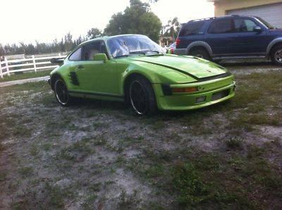 Photo Lime green, 911, 930 custom slant nose, wide body,