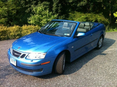 Photo 2007 Saab 9-3   -   2.0T Convertible  -  Electric Blue