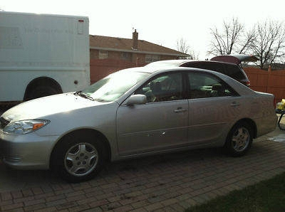 Photo 2001 TOYOTA CAMRY SILVER
