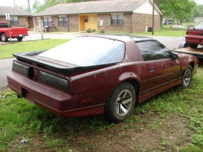 Photo 1985 Pontiac Firebird Trans AM w WS6 Suspension Package