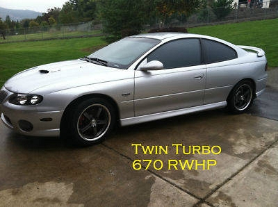 Photo 2004  GTO Twin Turbo  Forged  only a few in the USA built like this.