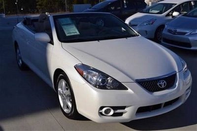 Photo 2008 Toyota Camry Solara Convertible Convertible V6 Automatic