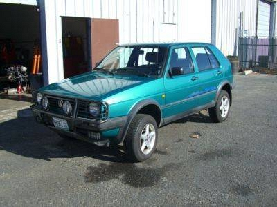 Photo 1990 VW Golf Syncro Country