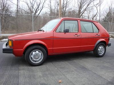 1983 Volkswagen Rabbit L MINT CONDITION 63K miles LOOK
