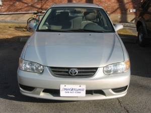 Photo 2001 Toyota Corolla LE Silver with Newer Engine