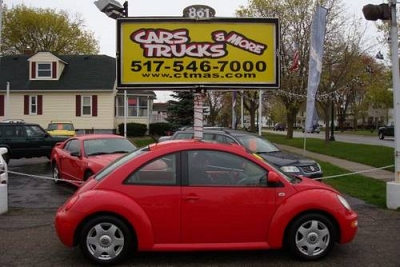 Photo 1999 Volkswagen Beetle - Red - Automatic - 75k miles