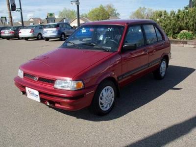 Photo 1991 Subaru JUSTY Compact 4X4
