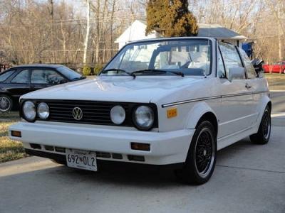Photo 1988 VW Cabriolet-triple white-BBS wheels