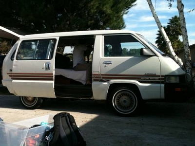 Photo 1987 Toyota Van Wagon