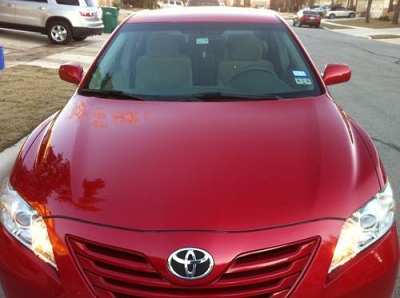 Photo 2009 TOYOTA CAMRY LE 4 CYL.-CANDY APPLE RED-AUTO