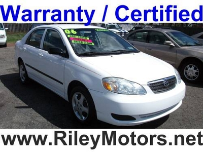 Photo 2006 Toyota Carolla White Certified Warranty Extra Clean No Accidents