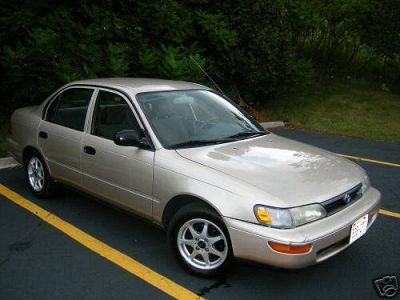 Photo 1995 Toyota Corolla - 4AGE Black Top, VVT, 20 valve - 77K on motor