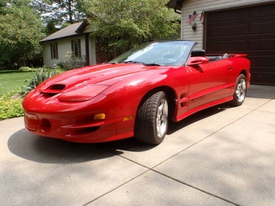 Photo REDUCED 2000 Pontiac Trans Am WS6