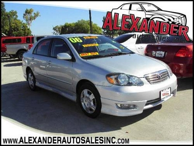 Photo 2006 TOYOTA COROLLA S SPORT, GAS SAVER,SUPER SPECIAL,CLEAN TITLE