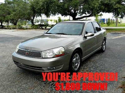 Photo 2003 Saturn LS Sedan YOU ARE APPROVED