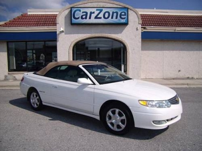 Photo 2002 Toyota Camry Solara SLE Convertible - Pearl White