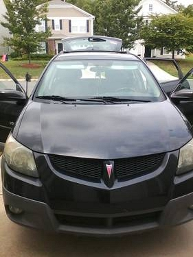 Photo AWESOME 2003 Pontiac Vibe GT, black, 6 speed, 122,000 miles.