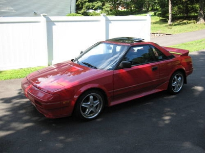 Photo 1986 Toyota MR2 Red