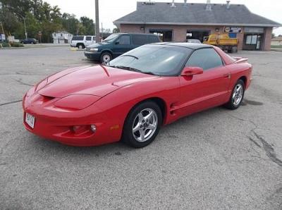 Photo 2002 Pontiac Firebird - Fire Engine Red - Auto - 174,000 Mi.