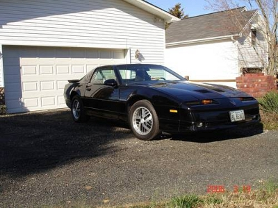 Photo 1986 pontiac trans am ws6 t-top