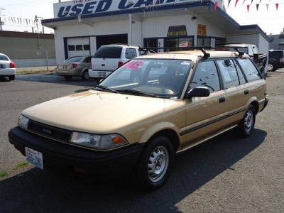 Photo 1990 Toyota Corolla 4 Door Wagon Deluxe