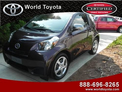 Photo 2012 SCION iQ Coupe 3dr HB