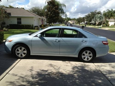 Photo 2007 TOYOTA CAMRY LE  POWDER BLUE
