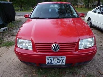 Photo 1999 VW Jetta 5 speed 4 cly RED 96k MI.