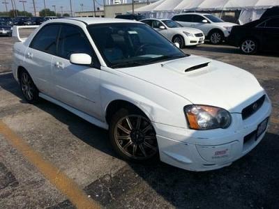 Photo 2004 Subaru Impreza Sedan Sedan 2.5 WRX STi wSilver Wheels