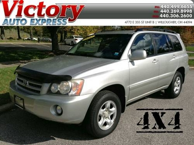 Photo 2002 Toyota Highlander 4WD