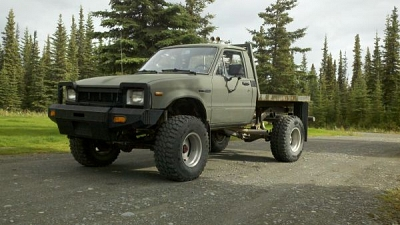 Toyota Flatbed 4x4 For Sale