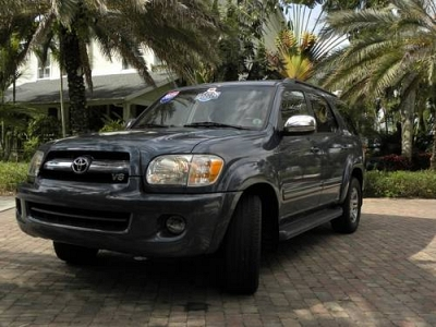 Photo 2007 Toyota Sequoia  4x2 Limited V8 A5