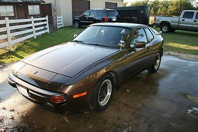 Photo Used Super Nice 1983 Porsche 944 Gray 44791 Miles