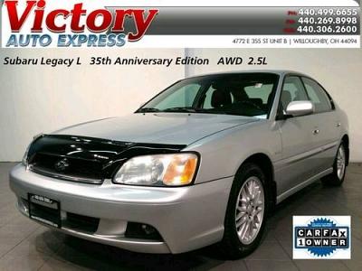 Photo 2004 Subaru Legacy L 35th Anniversary Edition 89K AWD