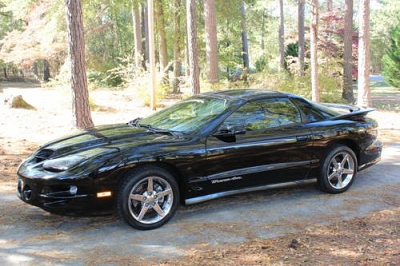 Photo 2001 Pontiac Firebird Trans Am WS6 Ram Air only 80K Black Black T-Tops