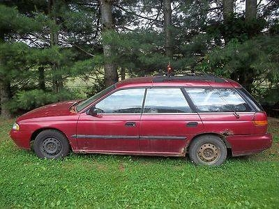 Photo 1995 Subaru Legacy Wagon Right Hand Drive Mail Car
