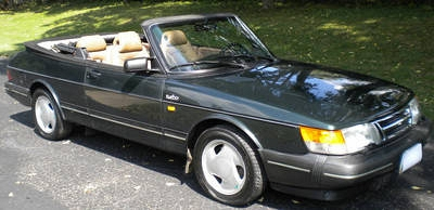 Photo 1993 Saab 900 Turbo, Convertible, Automatic Trans., Leather Interior