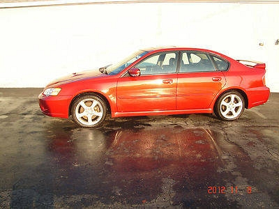Photo 2006 SUBARU LEGACY GT  TURBO  SUPER NICE    RED